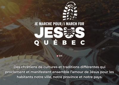 Marche Pour Jésus Québec