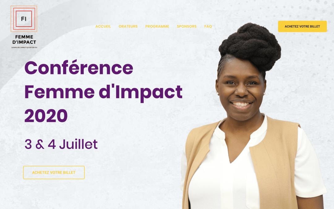 Conférence Femme d'Impact