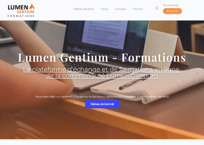 Lumen Gentium – Formations en ligne & Communauté